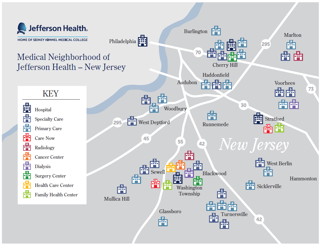 Primary & Specialty Care | Jefferson Health New Jersey