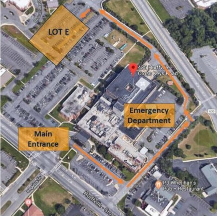 Directions & Visiting Hours | Jefferson Health New Jersey